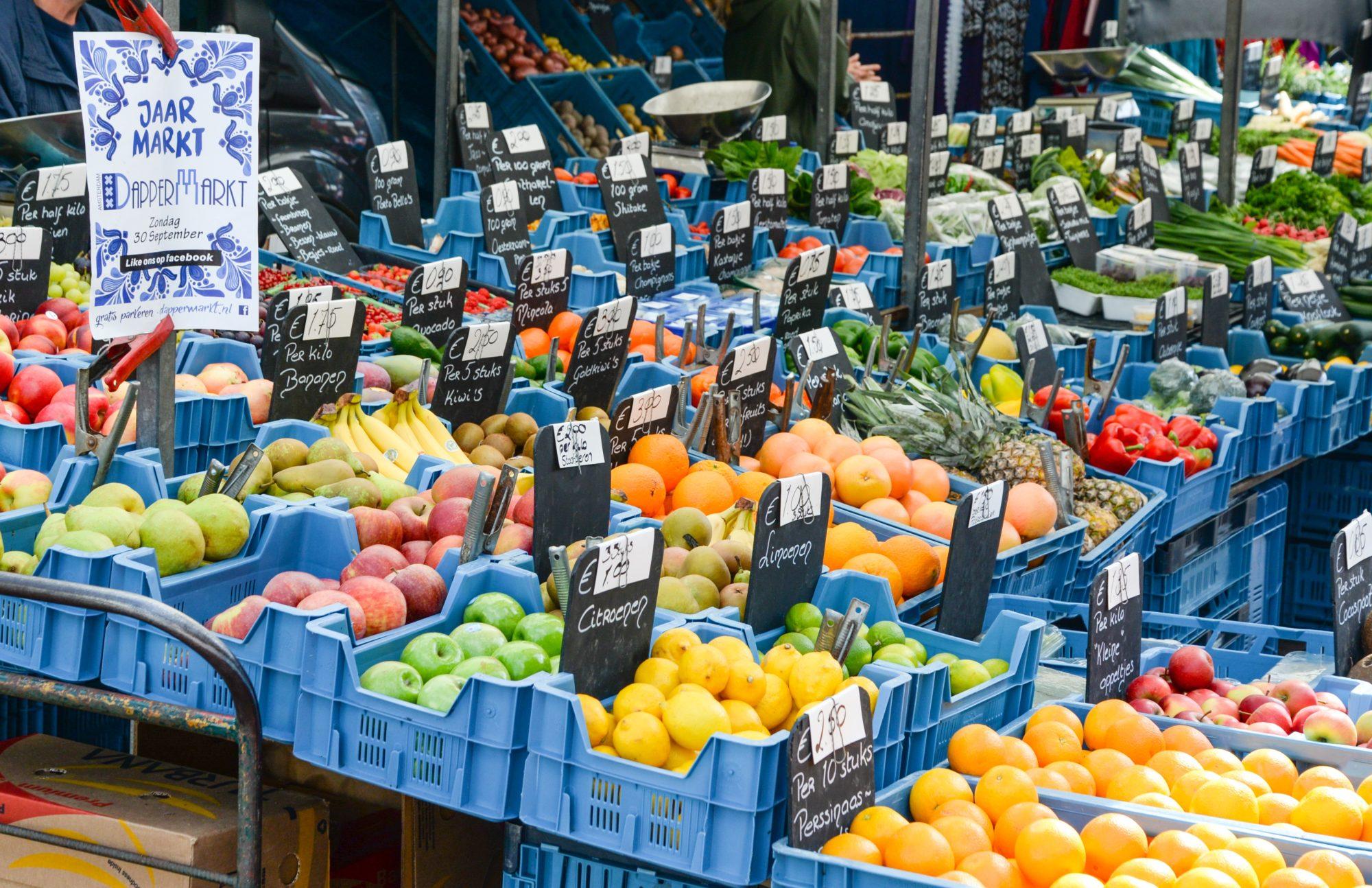 Warenmarktenbeleid Amsterdam
